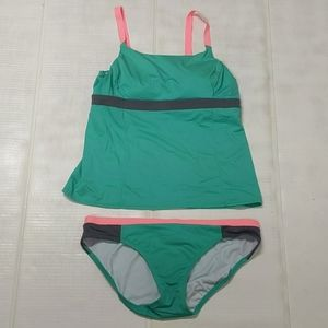 LANDS END SIZE 12 DD  2 PIECE TANKINI